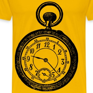 Victorian watch - Men's Premium T-Shirt
