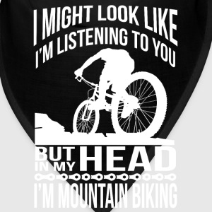 In my head I'm mountain biking Caps - Bandana