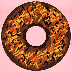 Fall or Halloween Donut - Women's Premium T-Shirt