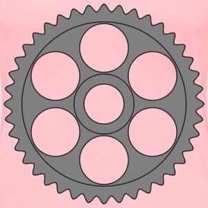 50tooth gear with circular holes - Women's Premium T-Shirt