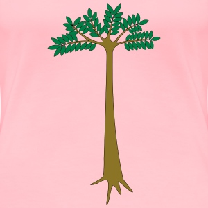Okoume tree - Women's Premium T-Shirt