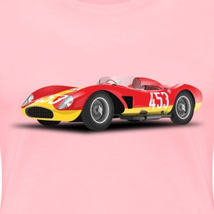 red racing car (no logo) - Women's Premium T-Shirt