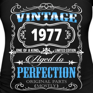1977 VINTAGE PERFECTION T-Shirts - Women's Maternity T-Shirt