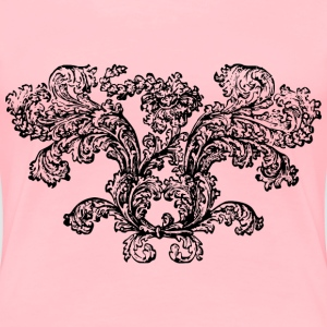 A flower bush - Women's Premium T-Shirt