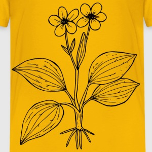 Plantainleaved buttercup - Kids' Premium T-Shirt