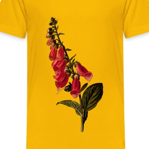 Foxglove (smaller file) - Kids' Premium T-Shirt