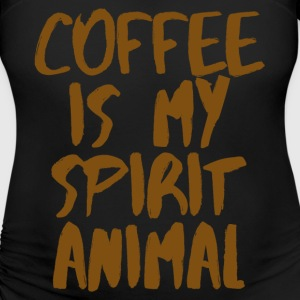 Coffee is my spiritual animal T-Shirts - Women's Maternity T-Shirt