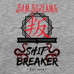 Sam Screams Ship Breaker - Men's Premium T-Shirt