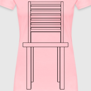 Simple chair front - Women's Premium T-Shirt