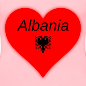 Albania my heart - Women's Premium T-Shirt
