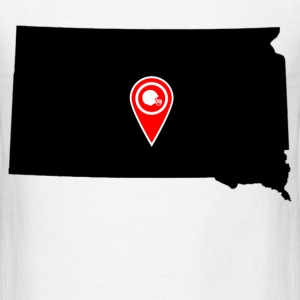 south dakota 1212.png T-Shirts - Men's T-Shirt