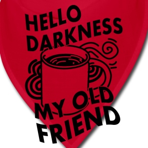 hello darkness my old friend Caps - Bandana