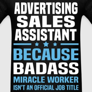Advertising Sales Assistant Tshirt - Men's T-Shirt