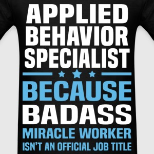 Applied Behavior Specialist Tshirt - Men's T-Shirt