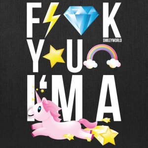 SmileyWorld F*** You I Am A Unicorn - Tote Bag