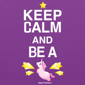 SmileyWorld Keep Calm And Be A Unicorn - Tote Bag