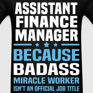 Assistant Finance Manager Tshirt - Men's T-Shirt