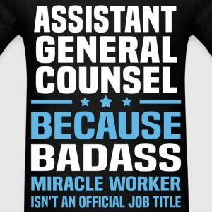 Assistant General Counsel Tshirt - Men's T-Shirt