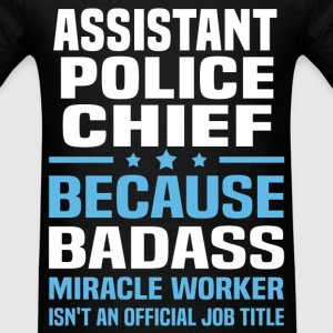 Assistant Police Chief Tshirt - Men's T-Shirt