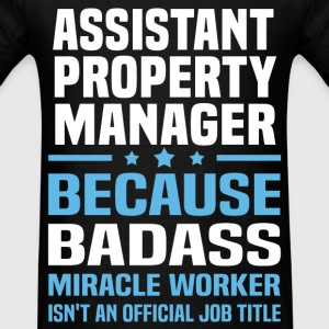Assistant Property Manager Tshirt - Men's T-Shirt