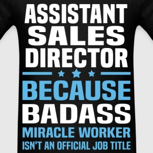 Assistant Sales Director Tshirt - Men's T-Shirt