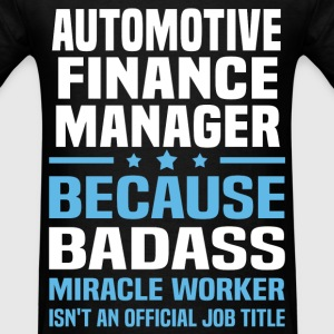 Automotive Finance Manager Tshirt - Men's T-Shirt