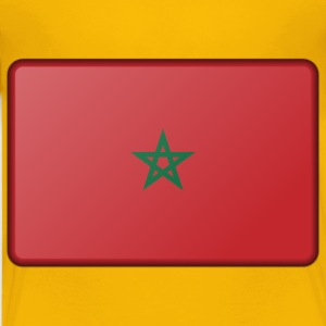Morocco flag (bevelled) - Kids' Premium T-Shirt