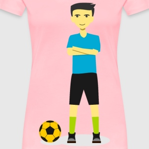 Soccer Team Captain 2 - Women's Premium T-Shirt