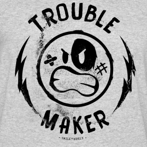 SmileyWorld Trouble Maker - Men's 50/50 T-Shirt