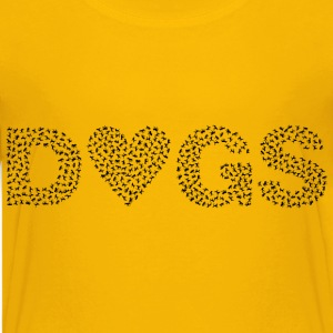 Heart Dogs - Kids' Premium T-Shirt