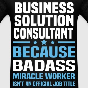 Business Solution Consultant Tshirt - Men's T-Shirt