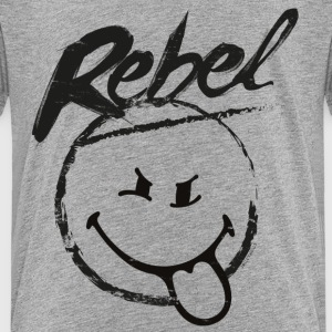 SmileyWorld Rebel - Kids' Premium T-Shirt