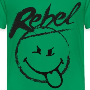 SmileyWorld Rebel - Toddler Premium T-Shirt