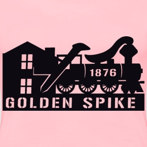 Railroad Logo - Women's Premium T-Shirt
