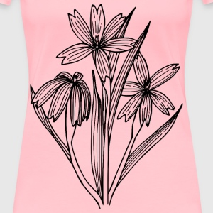 Blueeyed grass - Women's Premium T-Shirt