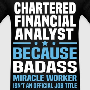 Chartered Financial Analyst Tshirt - Men's T-Shirt