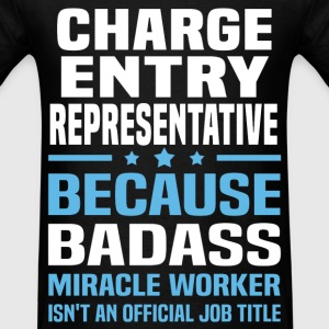 Charge Entry Representative Tshirt - Men's T-Shirt