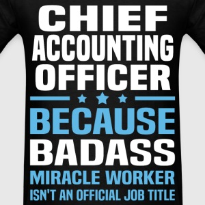 Chief Accounting Officer Tshirt - Men's T-Shirt