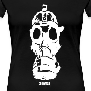 GAS MASK - Women's Premium T-Shirt