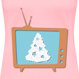 Christmas TV - Women's Premium T-Shirt