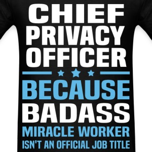 Chief Privacy Officer Tshirt - Men's T-Shirt