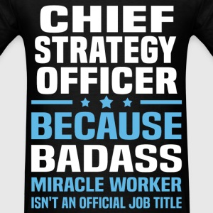 Chief Strategy Officer Tshirt - Men's T-Shirt