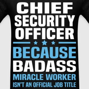 Chief Security Officer Tshirt - Men's T-Shirt
