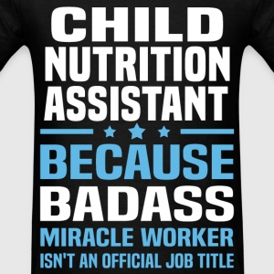 Child Nutrition Assistant Tshirt - Men's T-Shirt