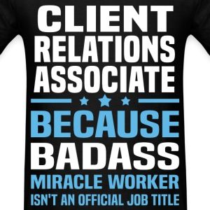 Client Relations Associate Tshirt - Men's T-Shirt