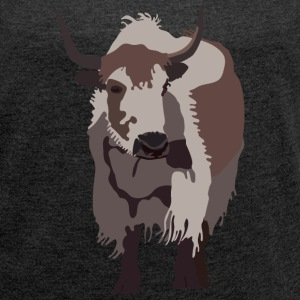YAK T-Shirts - Women's Roll Cuff T-Shirt