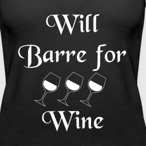 SST-1260 Will Barre for Wine Tanks - Women's Premium Tank Top