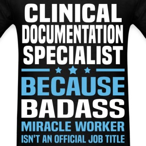 Clinical Documentation Specialist Tshirt - Men's T-Shirt