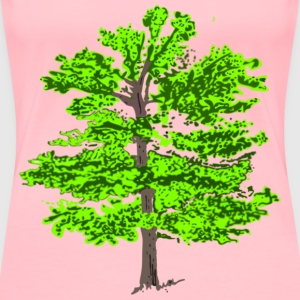 color tree - Women's Premium T-Shirt
