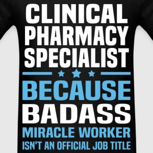 Clinical Pharmacy Specialist Tshirt - Men's T-Shirt